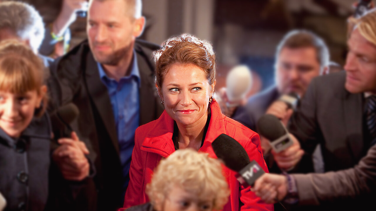 A still from Danish TV Show Borgen