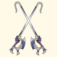 Hizu hook swords shuang gou