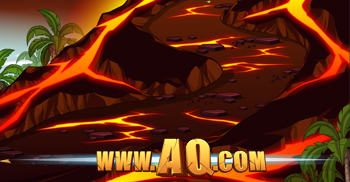 Ilha de Fotia visualização no AQWorlds jogos de aventura online grátis