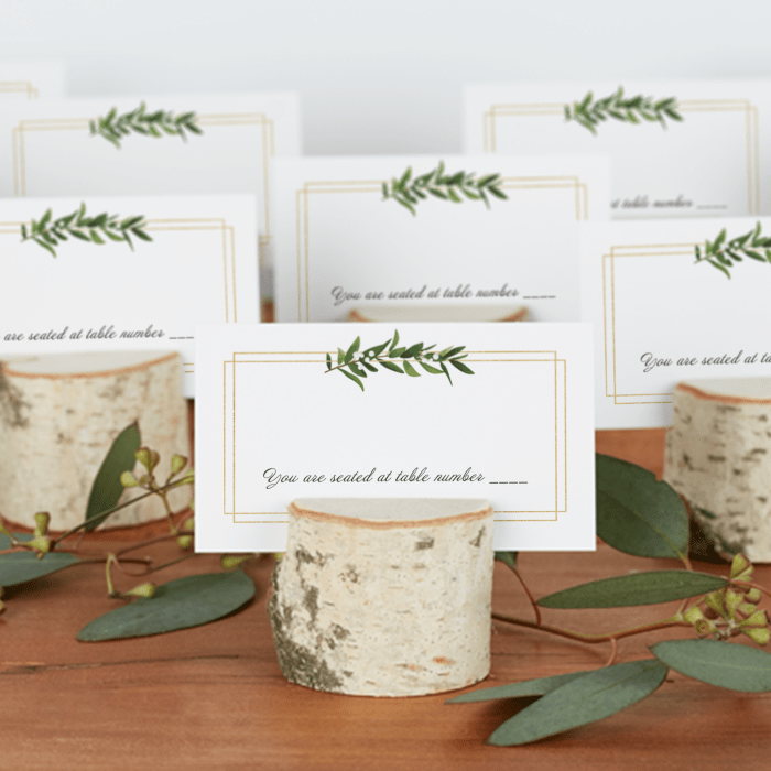 Wedding Place Cards Custom Place Cards Vistaprint