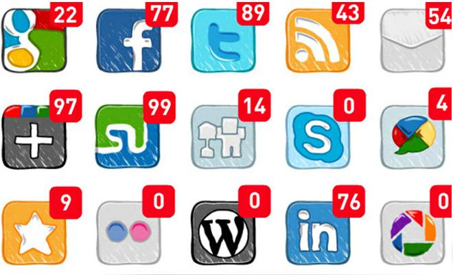 social media customer service notifications