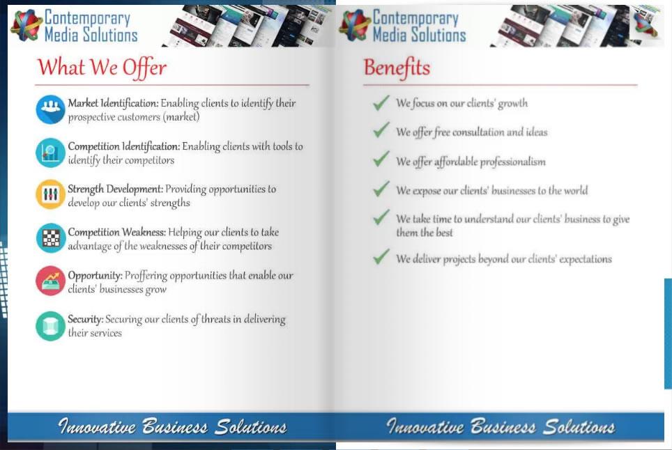 online presentation flipbook contemporary media solutions