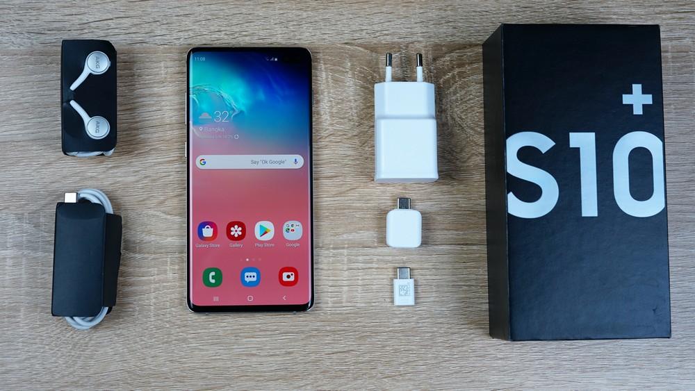 Review Samsung Galaxy S10 Smartphone Android Kencang