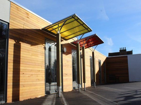 Entrance And Outdoor Classroom Canopies For School