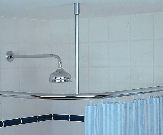 Room Divider Cubicle Shower Rail System Silent Gliss ESI Interior Design