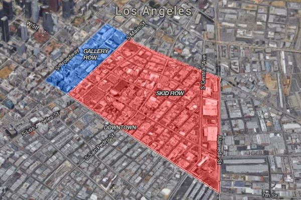 Skid Row vs. Gallery Row: How cultural revitalization is ...