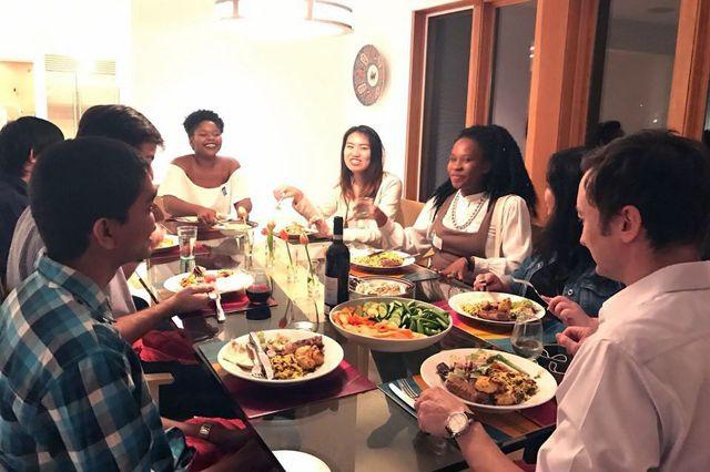 Dinner 12 Strangers Ucla