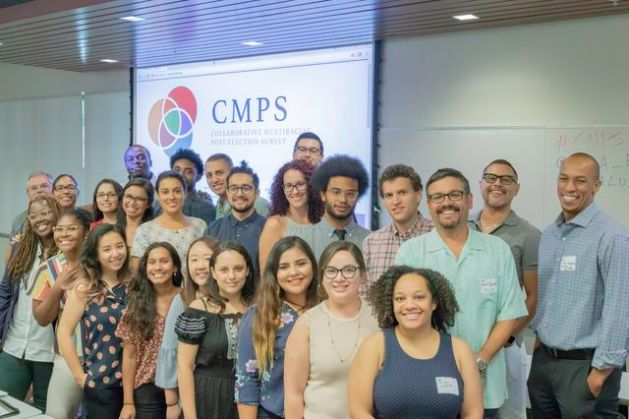 UCLA political science team leading the way in the study of race and     CMPS group
