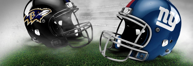 Image result for Baltimore Ravens vs. New York Giants