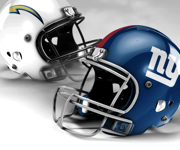 Image result for LA Chargers vs. NY Giants