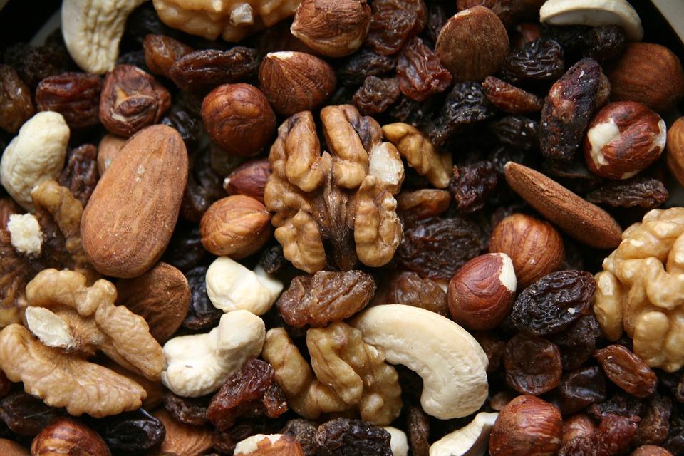 La ingesta de frutos secos también está presente. (Foto: Pixabay)