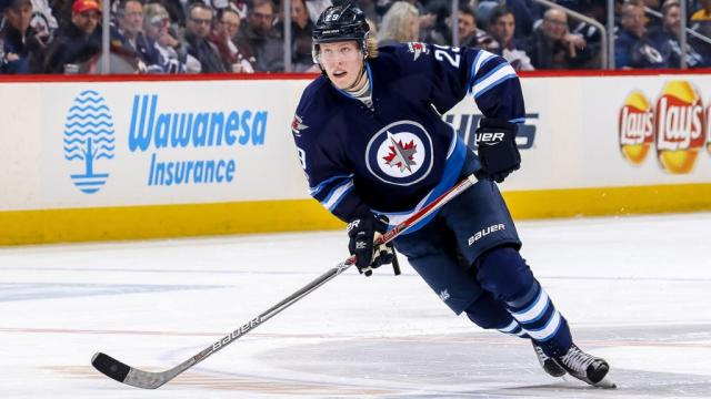 Patrik Laine thriving during rookie season with Jets