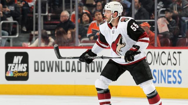 Demers out indefinitely for Coyotes with lower-body injury