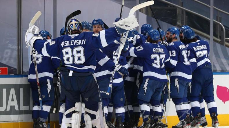 Lightning face questions on way to Eastern Conference Final in Edmonton