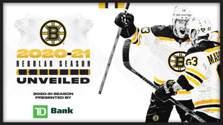 NHL Announces Schedule For Bruins 2020-21 Season Presented By TD Bank