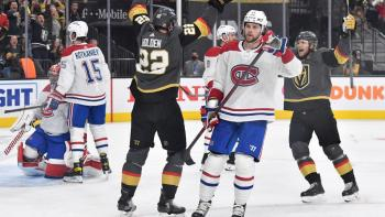Canadiens facing adversity after falling to Golden Knights in Game 1