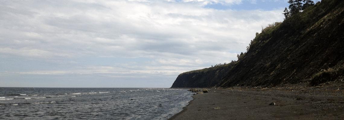 Camping Griffon's pebble beach