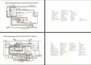 Electric Wiring Diagram 911 (1972)  Elektrische
