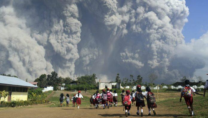 Indonesia Eruption