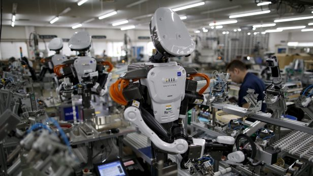 Robots are automating manufacturing jobs faster in countries with ...