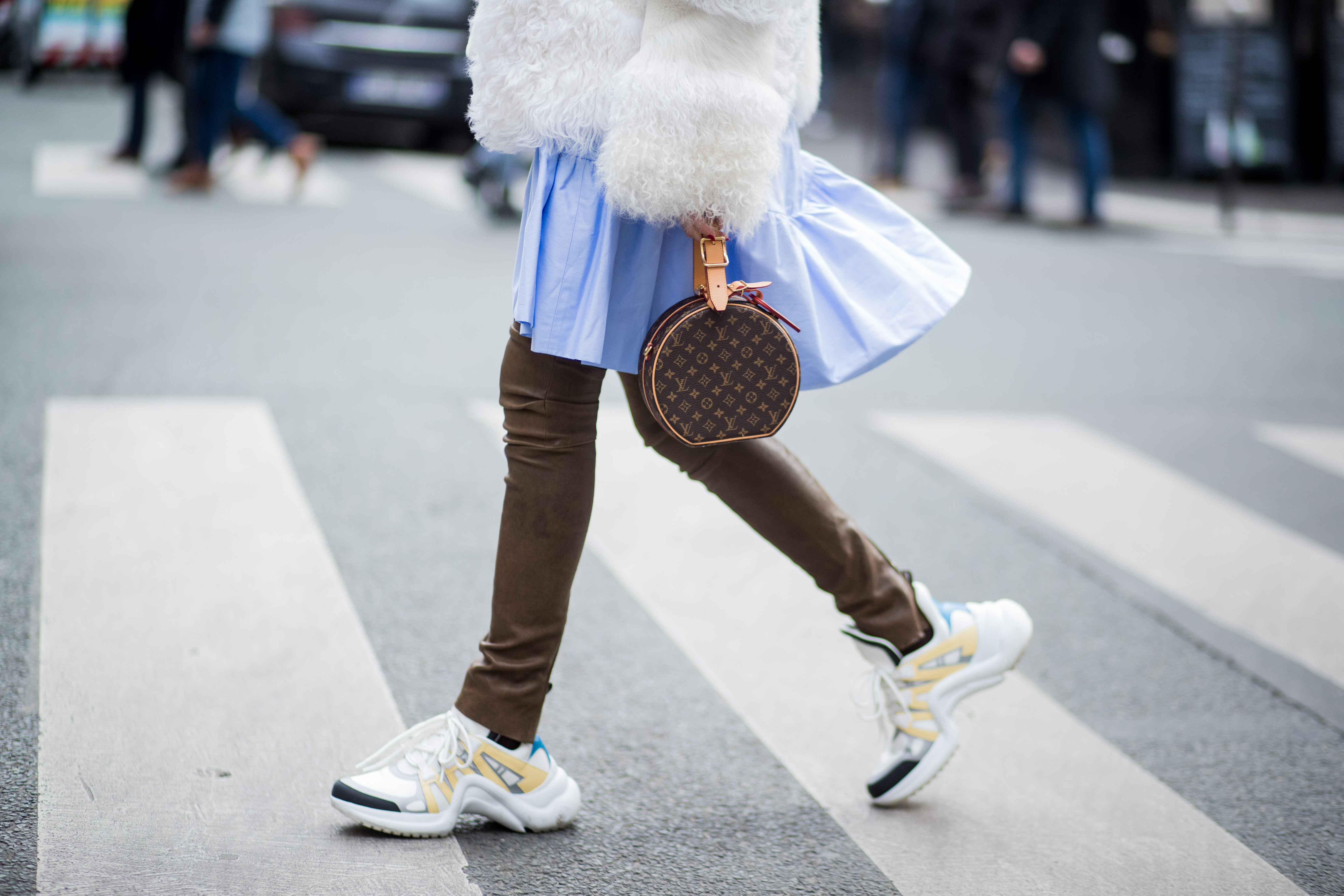 The ugly designer sneakers that have taken over fashion     Quartzy Louis Vuitton