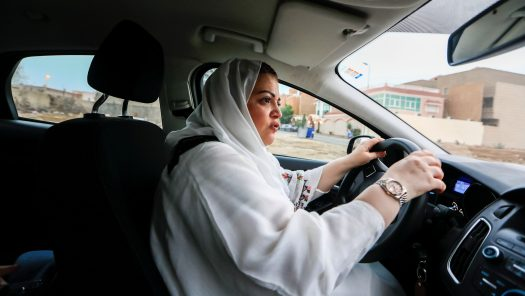 Saudi Arabia's women are finally allowed to drive a car on ...
