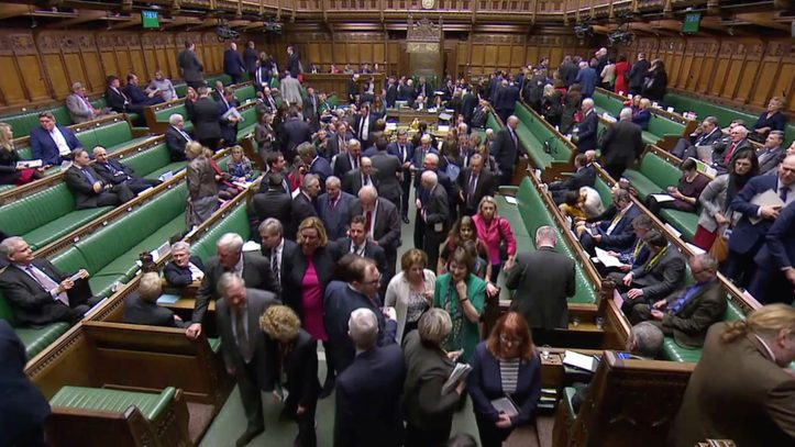 """But whatever tonight's vote might suggest about the will of MPs, it doesn't actually change anything legally—meaning a """"no deal"""" Brexit could still be in the offing."""
