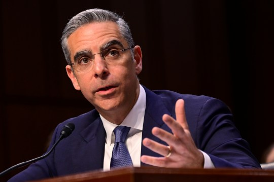 "David Marcus, head of Facebook's Calibra (digital wallet service), testifies before a Senate Banking, Housing and Urban Affairs Committee hearing on ""Examining Facebook's Proposed Digital Currency and Data Privacy Considerations"" on Capitol Hill in Washington, U.S., July 16, 2019."