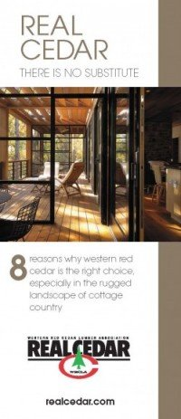 8 Reasons Why Western Red Cedar is the Right Choice