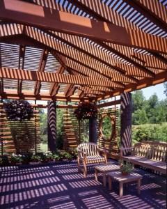 terrasse en lambris bois de cedre