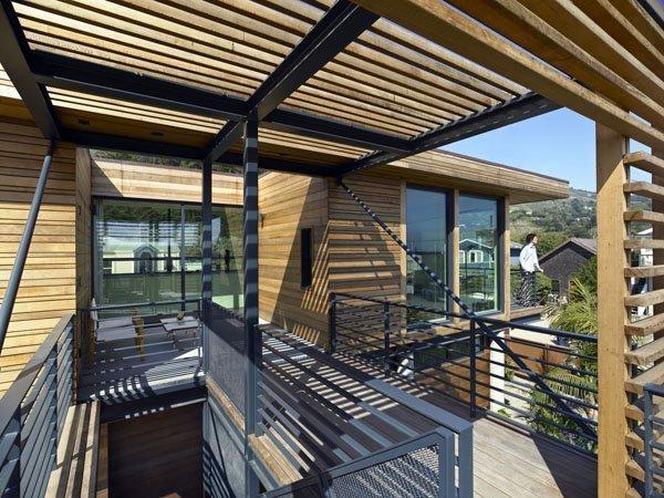 Floodproof House Architect: Studio Peek Ancona Location: Stinson Beach, California