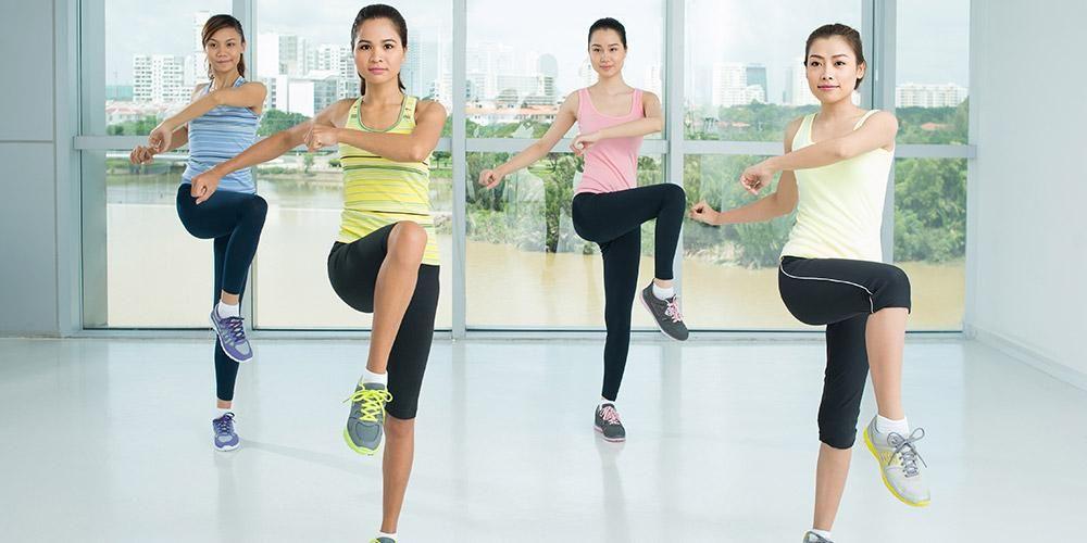 Salah satu olahraga yang dianjurkan untuk pasien kanker adalah aerobik
