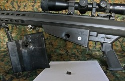 M107 SASR with Bullet Damage