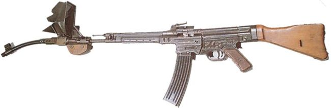 The MP44 Krummlauf (Photo courtesy of http://world.guns.ru)