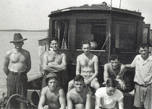 Operation Jaywick team on the Krait