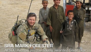 USAF CCT Posthumously Awarded Silver Star