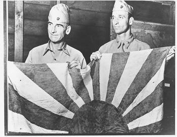 LTC Evans Carlson with MAJ James Roosevelt