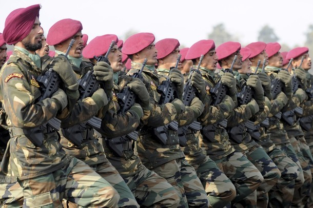 Indian Special Forces soldiers march due sofrep