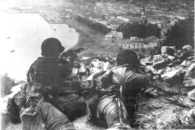 Rangers Attacking Snipers in Algeria