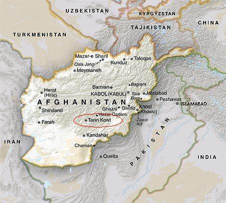 Tarin Kowt, Oruzgan Province, Southern Afghanistan