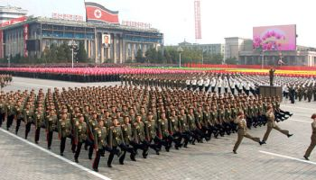 North Korean Ground Forces: We Can March Better Than You