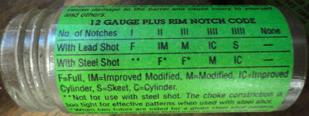 Shotgun 101: Understanding Chokes