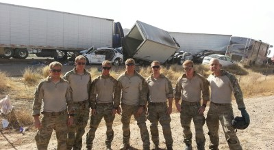 Airmen Are First Responders in Huge Interstate Accident