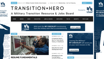 Transitioning Military Professionals Now Have Jobs & Advice on TransitionHero.com