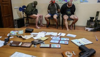 Covert Op Gone Bad: Three Ukrainian Special Forces Officers Captured by Pro-Russian Militia