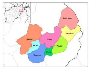 Nuristan Districts