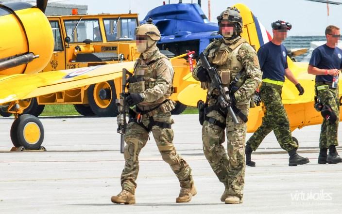 CSOR during an airshow.