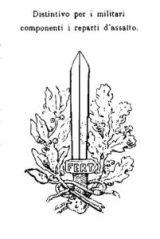 Arditi's arm badge