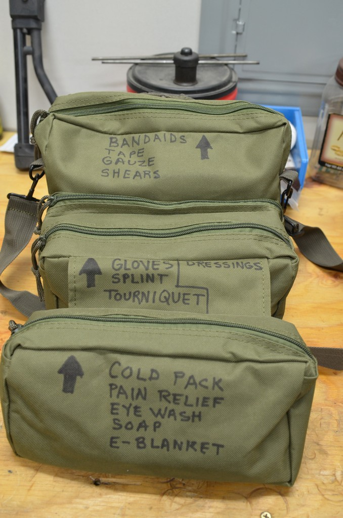 Prepping 101   The Medical Bucket and M3 Medic Bag