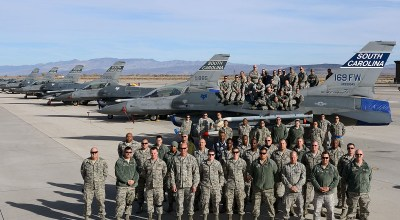 Joint SEAD In Action: SCANG Helps USN Training At NAS Fallon